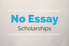 018 No Essay Scholarships Example Exceptional For Undergraduates High School Seniors College Students 2019