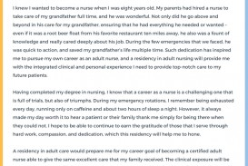 018 Nursing School Essay Sample Awesome Grad Examples Personal Statement For Graduate Essays