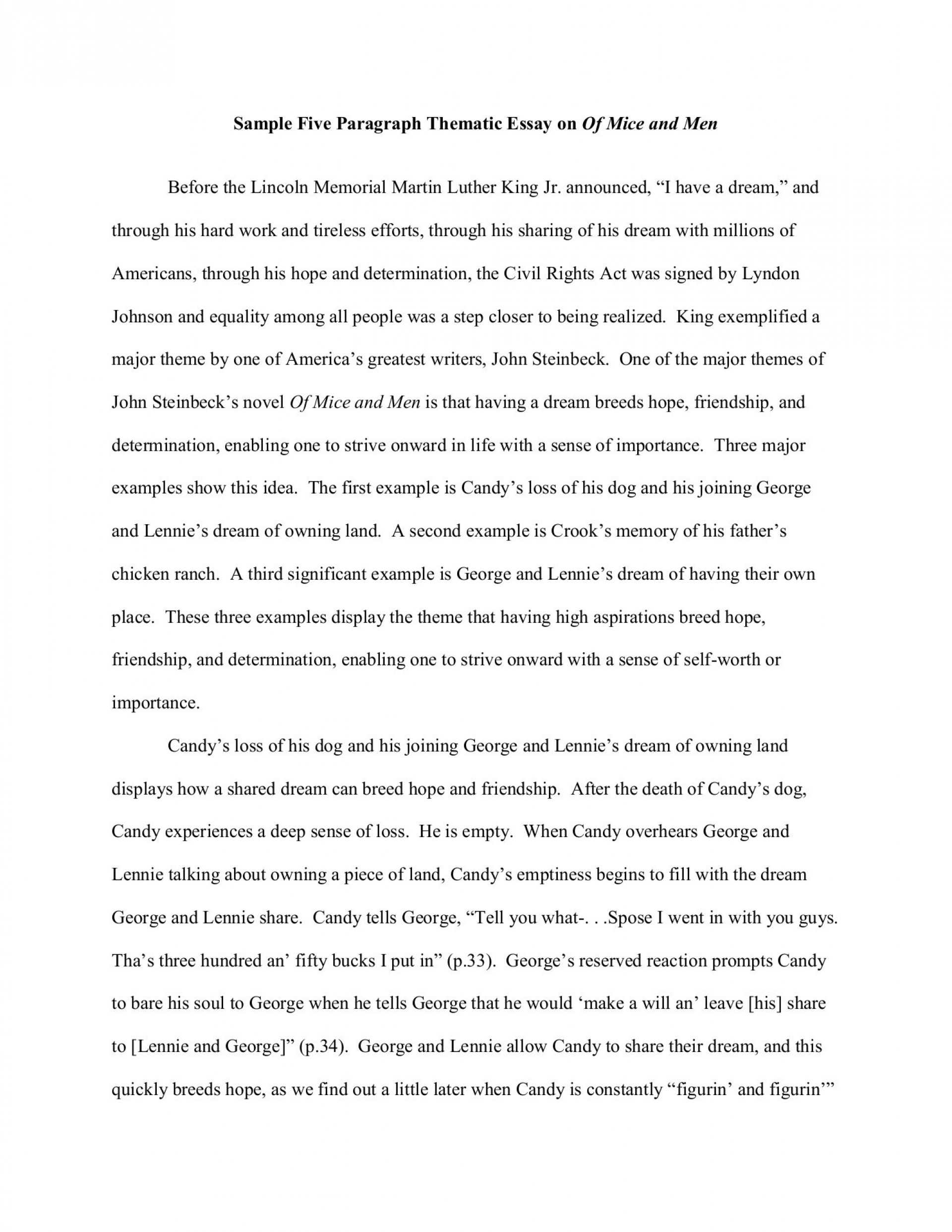 018 Of Mice And Men Essay Fearsome Prompts 1920