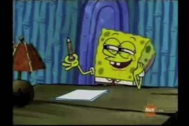 018 Spongebob Writing Essay Example Youtube Poop Should Have Asked For More Beautiful Day Font Maxresde Meme Hours Gif Rap Remarkable