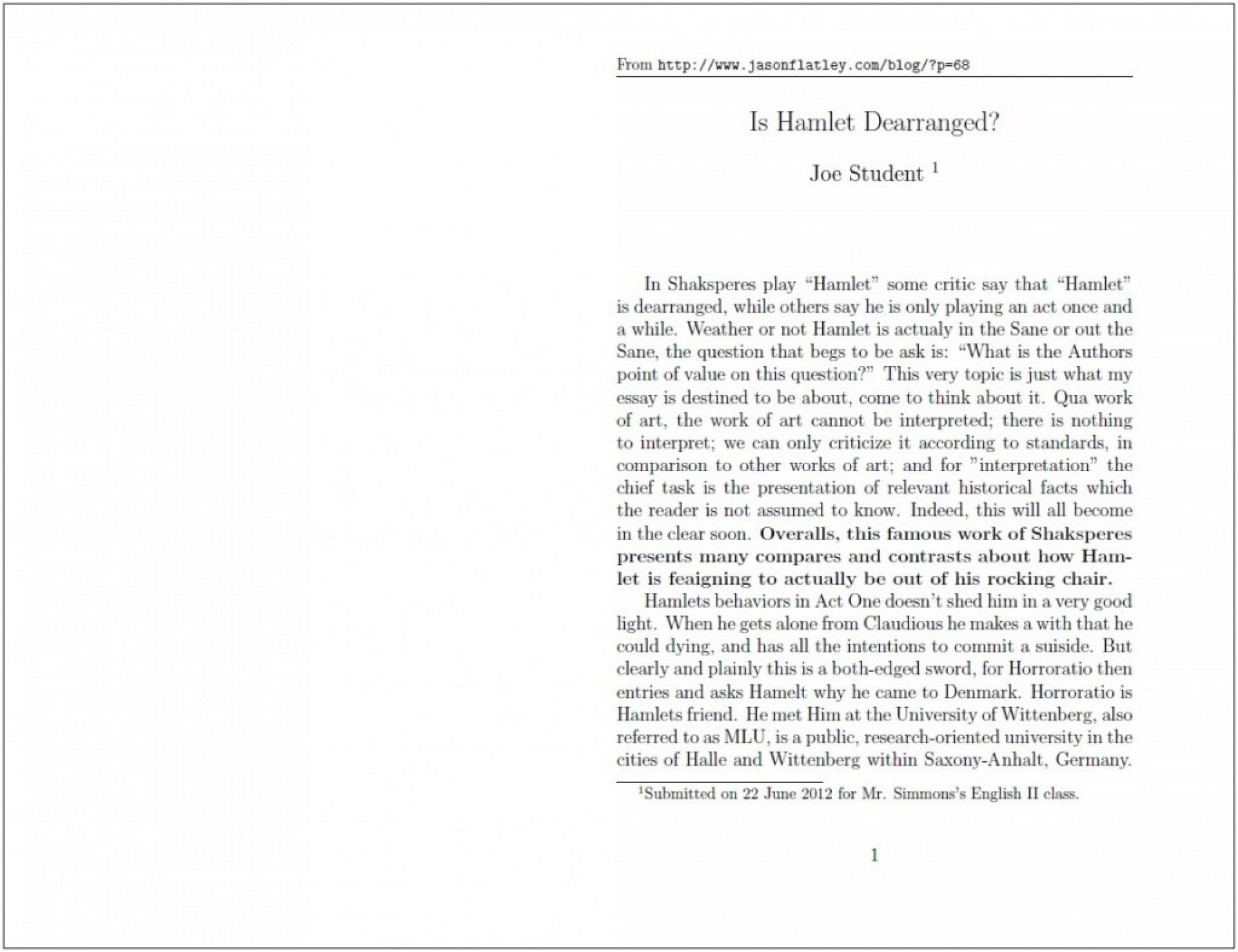 018 Standard Essay Cover Letter Written Format Writing Joe Student Hamlet Proposed Proper Paper Argumentative For College Application Scholarship Apa Pdf Mla Style Form Formidable Reflection 1920