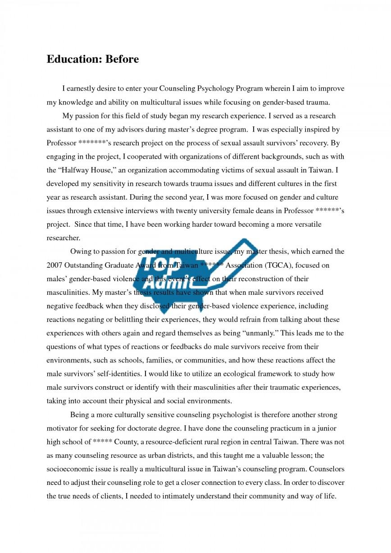 018 Statement Of Purpose Graduate School Sample Essays Essay Example Top Nursing Education Examples