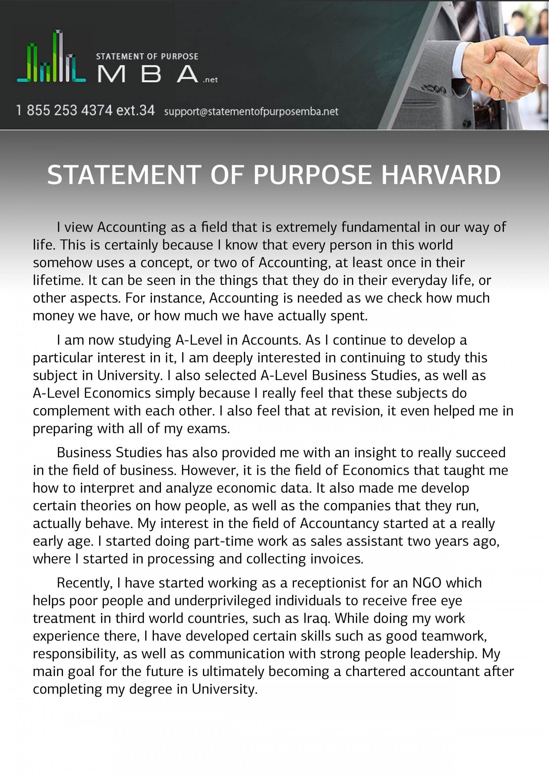018 Statement Of Purpose Harvard Sample Essay Example Common App Awesome Examples Application 1920