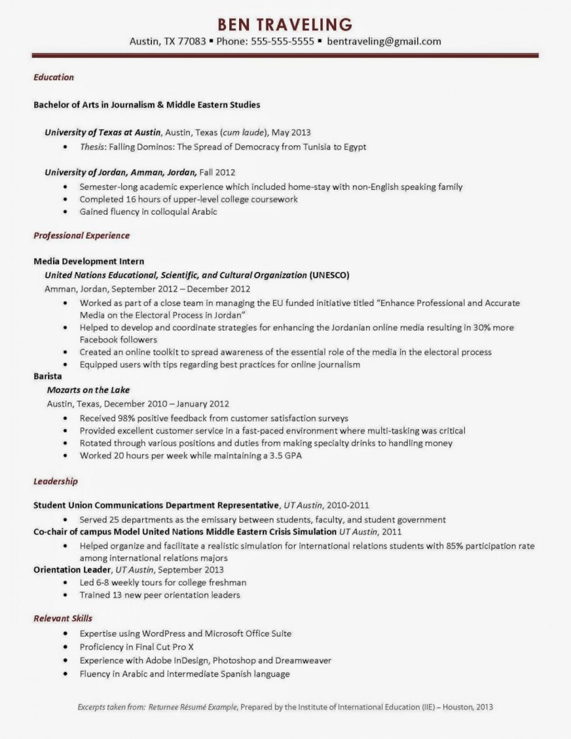018 Study Abroad Essay Example Morethantravelworkshop Resume