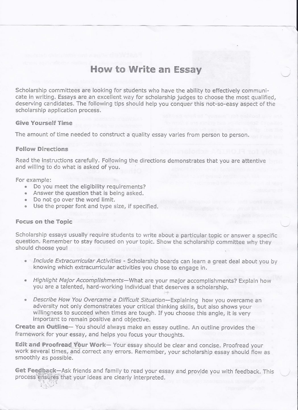 018 Type An Essay Online For Free Example Essays Write College Cover ...