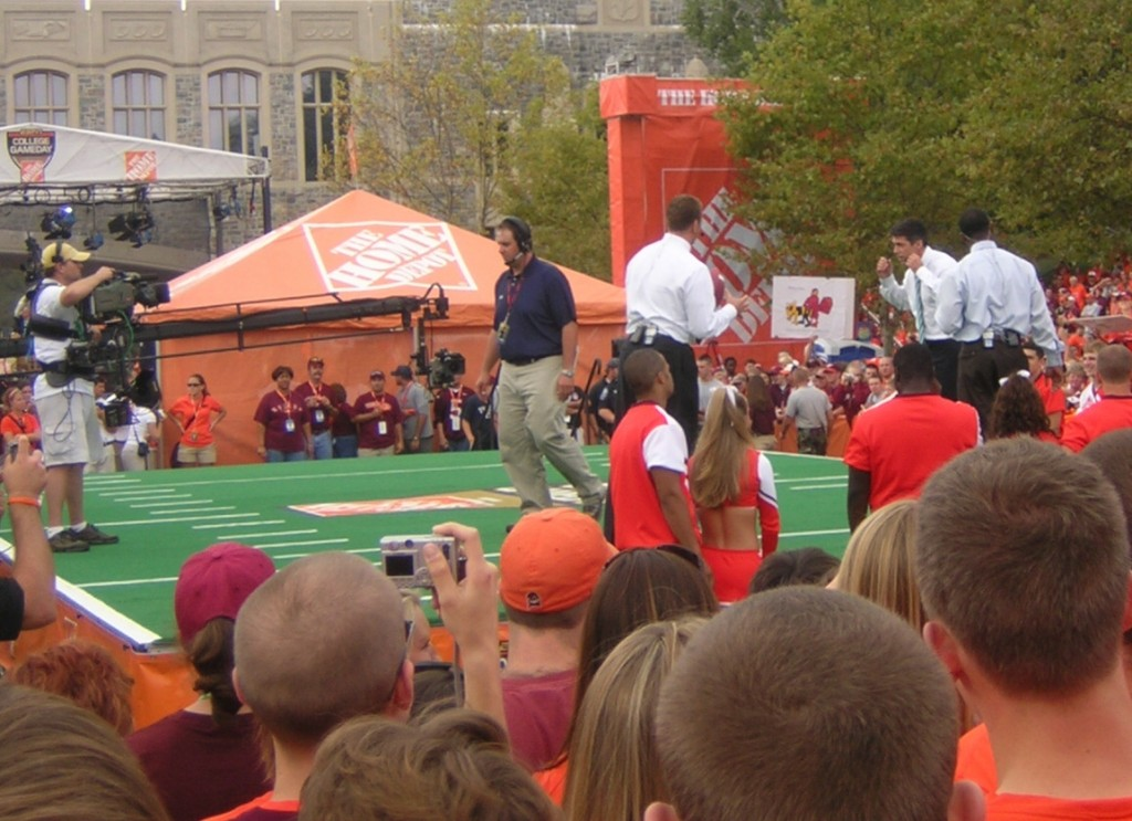 018 Virginia Tech Essay Example College Gameday At The Field Singular Essays That Worked Help Requirements Large