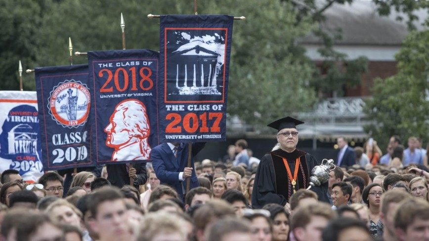 018 Virginia Tech Essay Prompts Uva2bopening2bconvocation Imposing How To Answer Writing