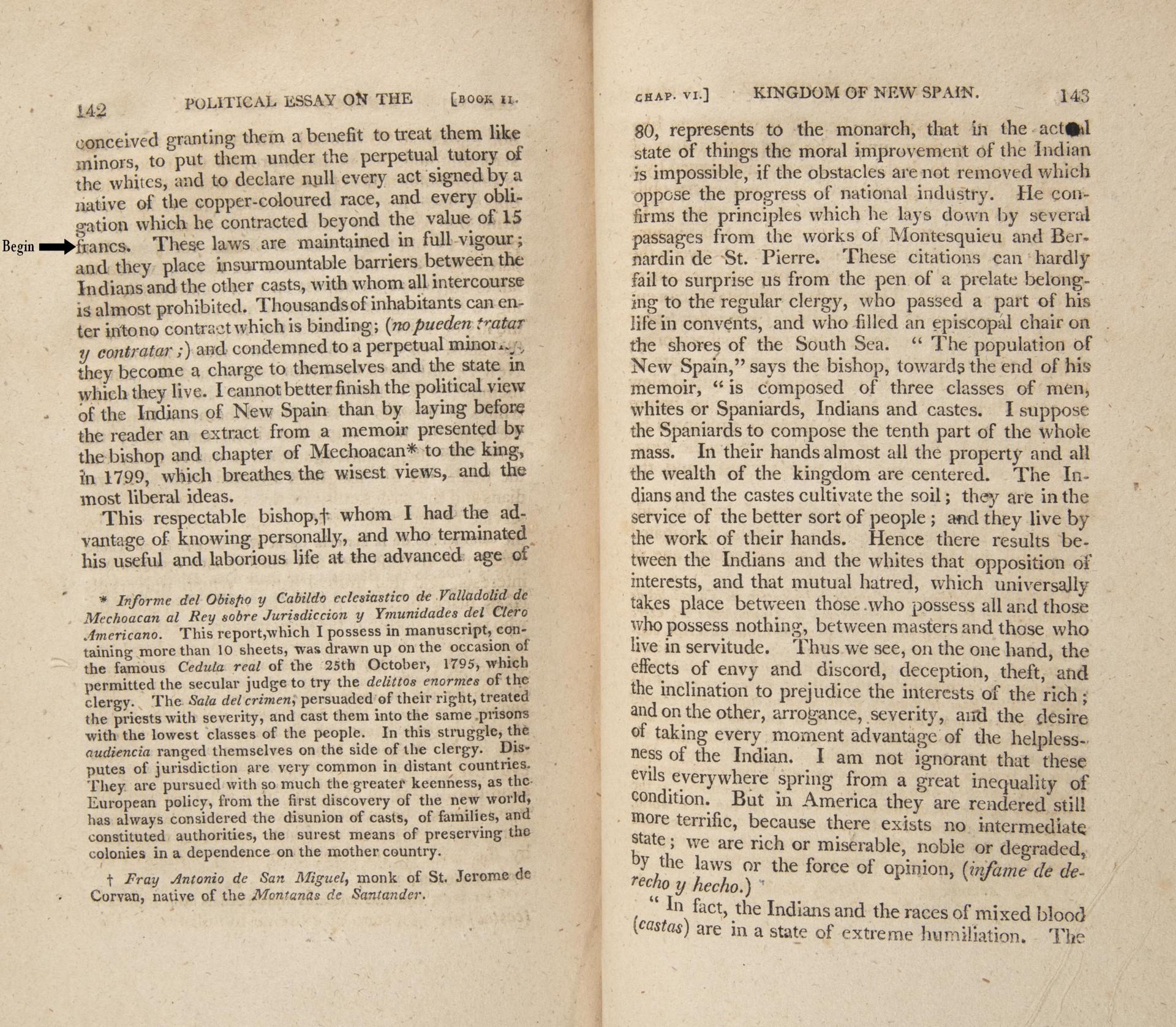 018 Von Humboldt Political Essay Pp142 143 Mod Example Dreaded Crossword Puzzle Clue 1920