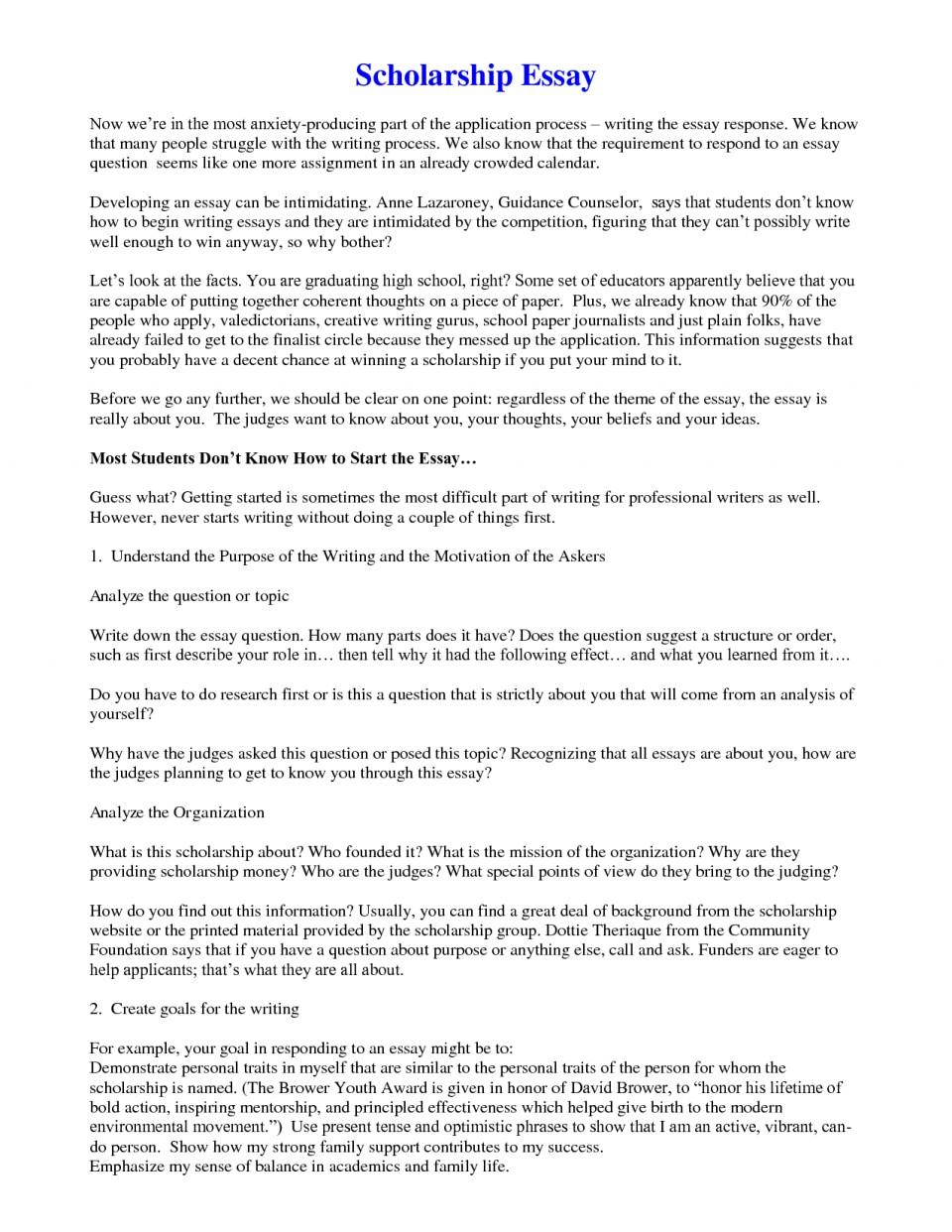 Formal outline format for an essay