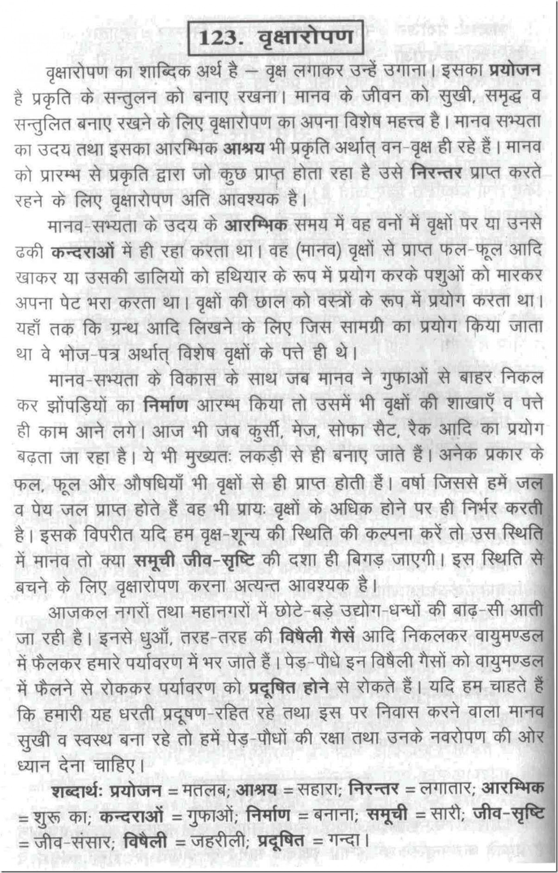 019 100123 Thumb How Can We Save Trees Essay Marvelous To In Hindi Telugu 1920