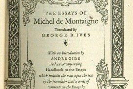 019 17947894039 2 Michel Montaigne Essays Essay Frightening De On Experience Summary Quotes