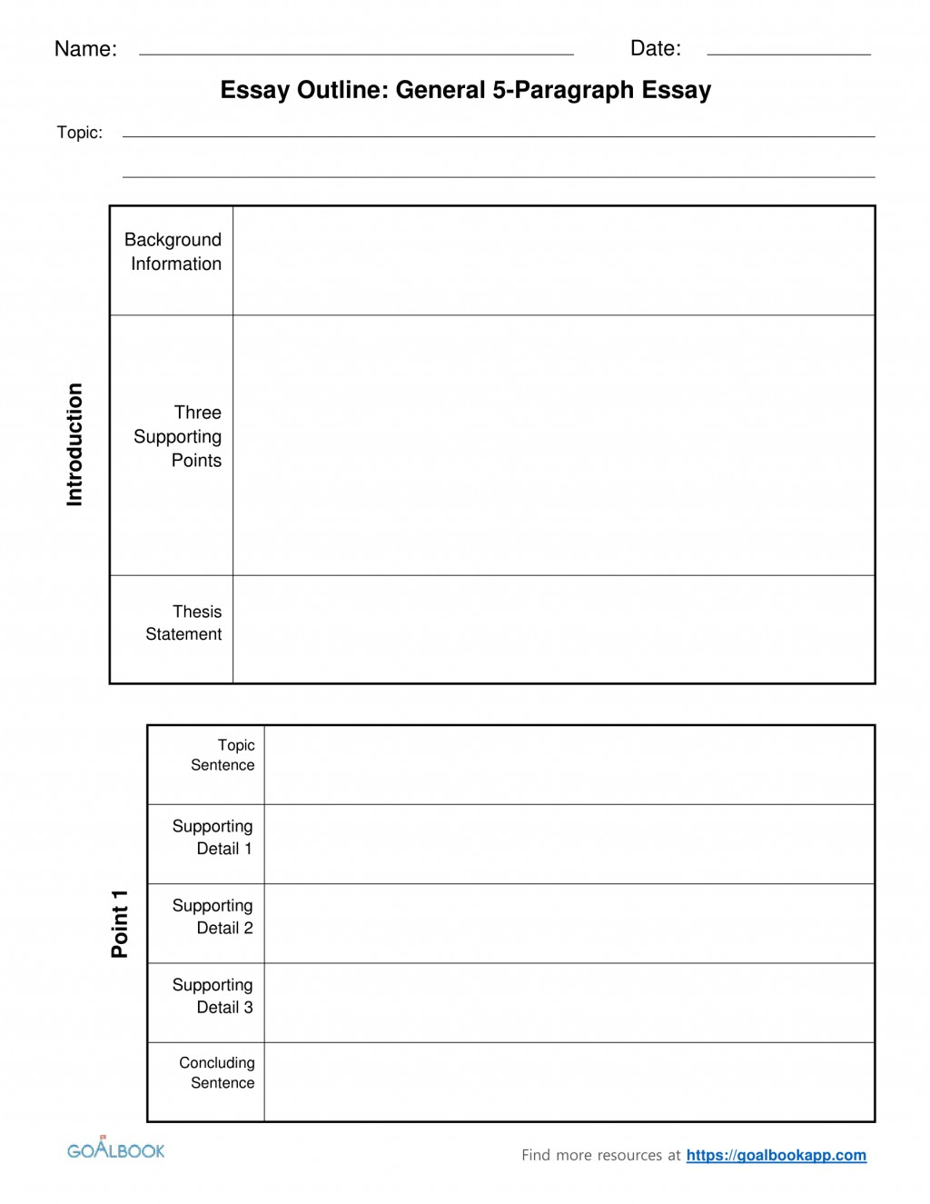 019 1fiveparagraphessayoutlinechunked Essay Example Informative Graphic Fascinating Organizer Free Informational Pdf 6th Grade Large