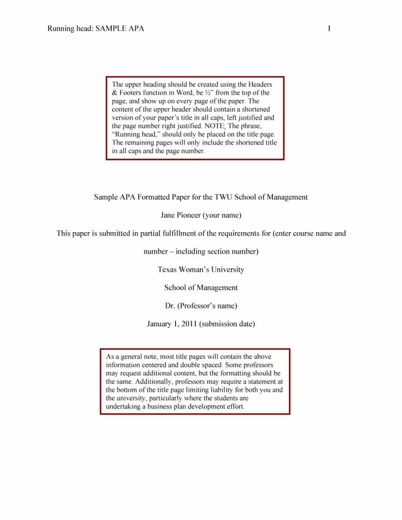019 Apa Format Essay Template Example Stupendous Short Sample Title Page 6th Edition 1400