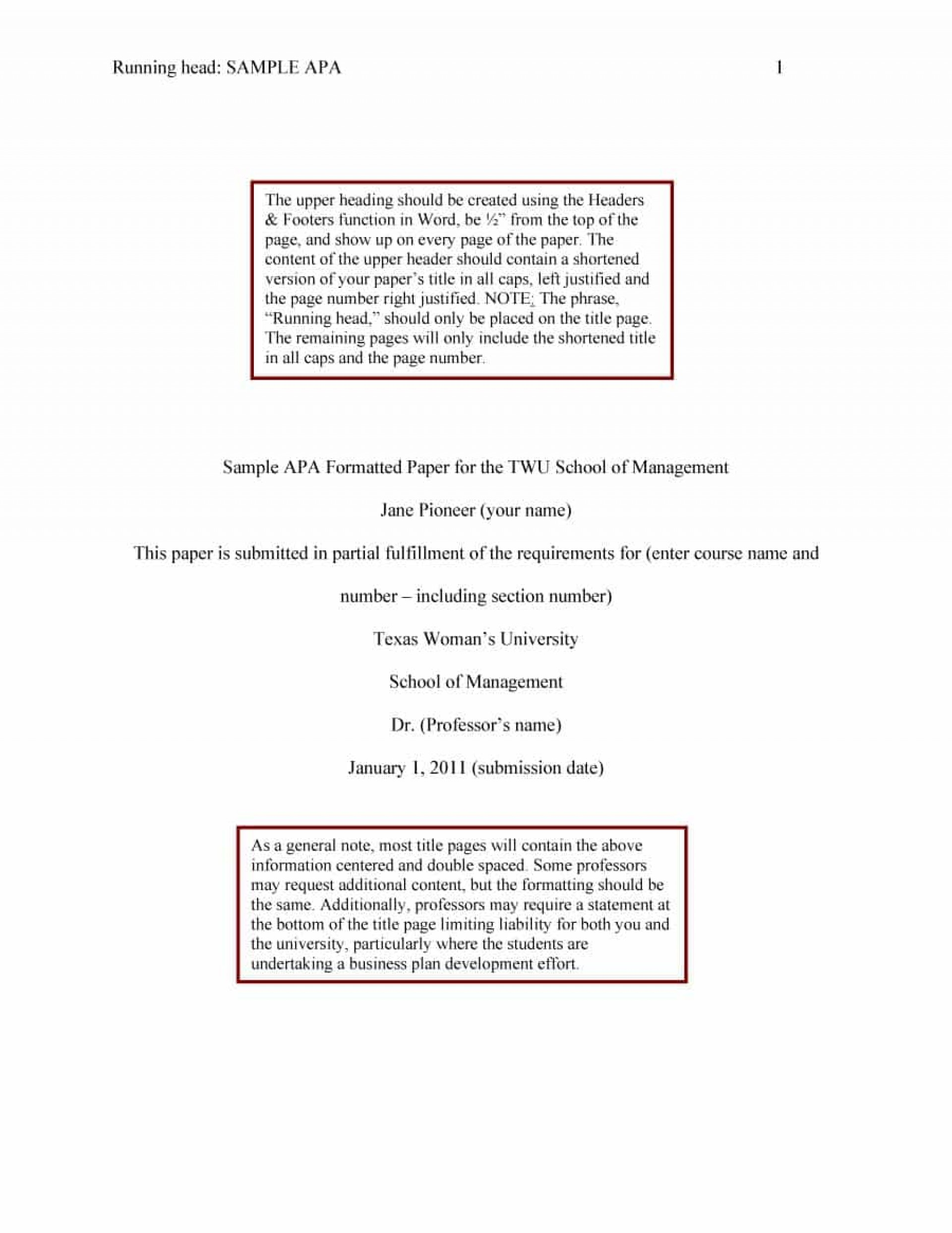 019 Apa Format Essay Template Example Stupendous Papers Examples Word 2010 1920
