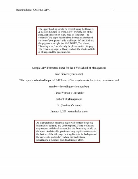 019 Apa Format Essay Template Example Stupendous Short Sample Title Page 6th Edition 480