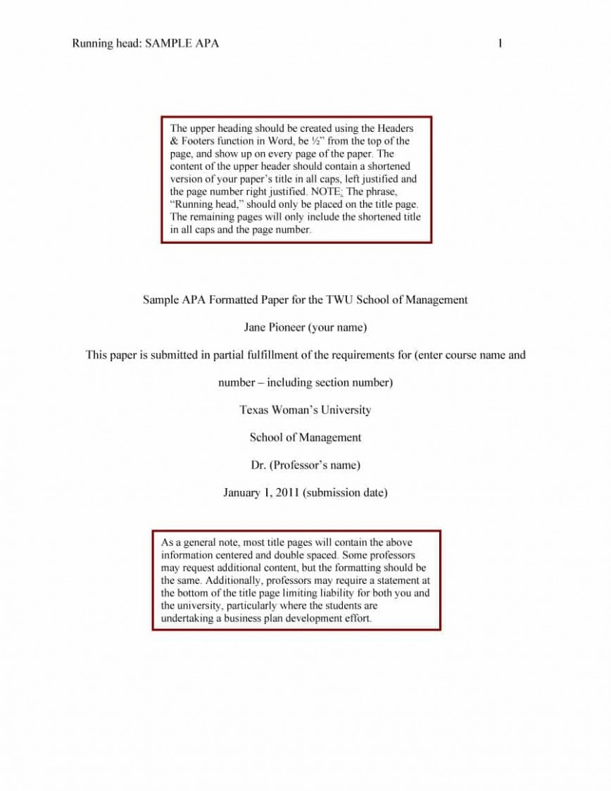 019 Apa Format Essay Template Example Stupendous Short Sample Title Page 6th Edition 868