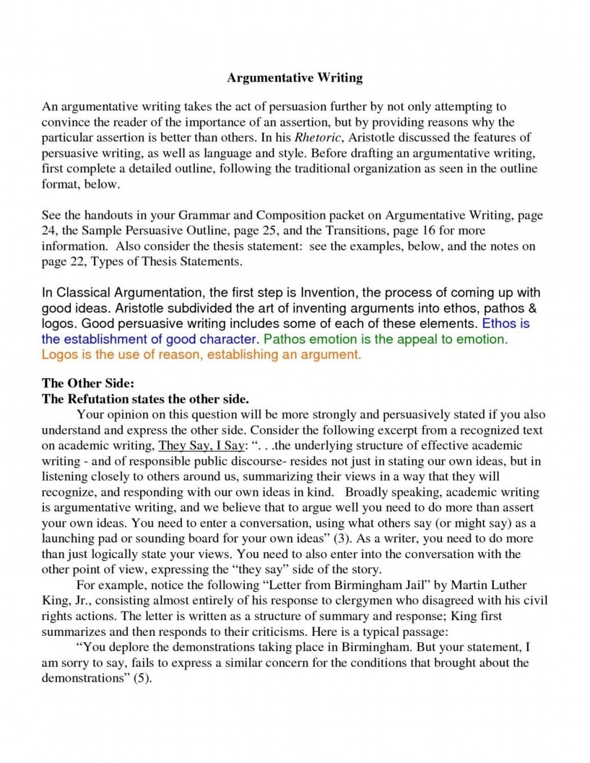 019 Argumentative Essay Samples For College Examples Of Persuasive Inside Level Example Awful Vs Are And Essays The Same Differentiate 1920
