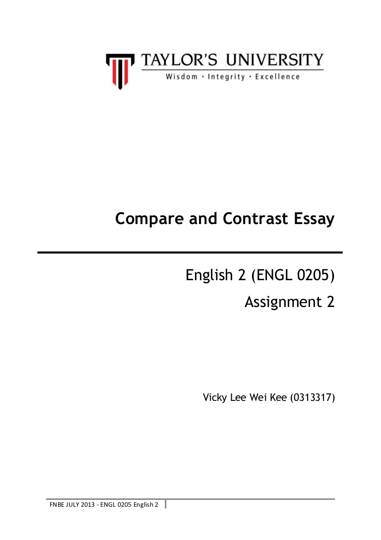 019 Compareandcontrastessay Phpapp02 Thumbnail Comparison Essay Topics Staggering Compare Contrast Esl And Examples For Students Middle School Full