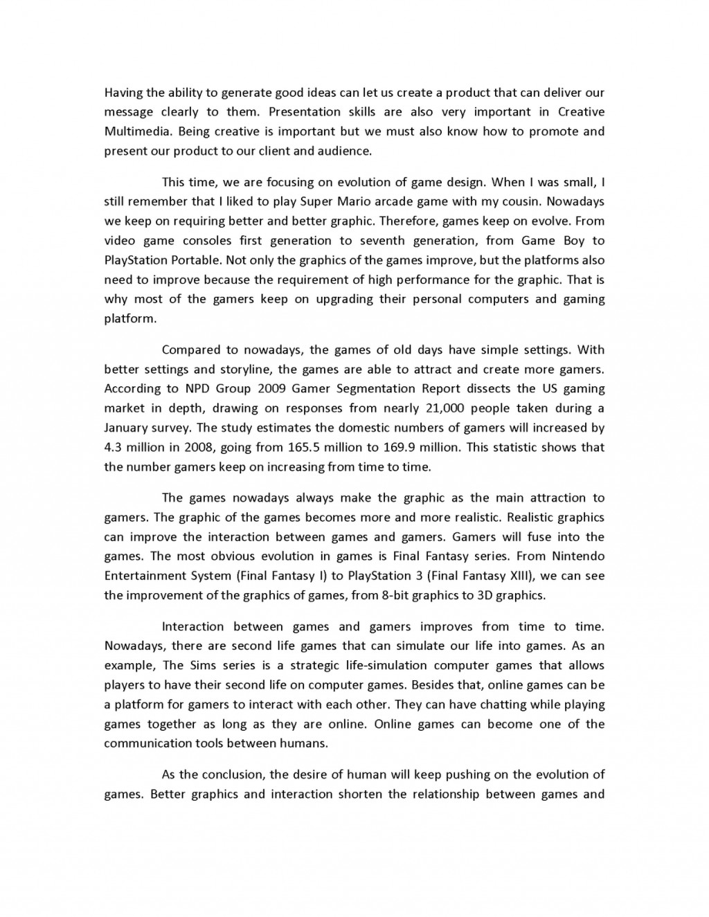 019 Creative20multimedia202 Page 2 Process Essay Ideas Marvelous Funny Analysis Large