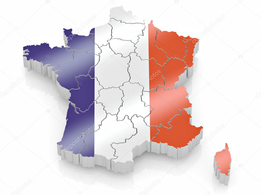 019 Depositphotos 4737242 Map Of France In French Essayer Essay Beautiful Future Verb Definition Full