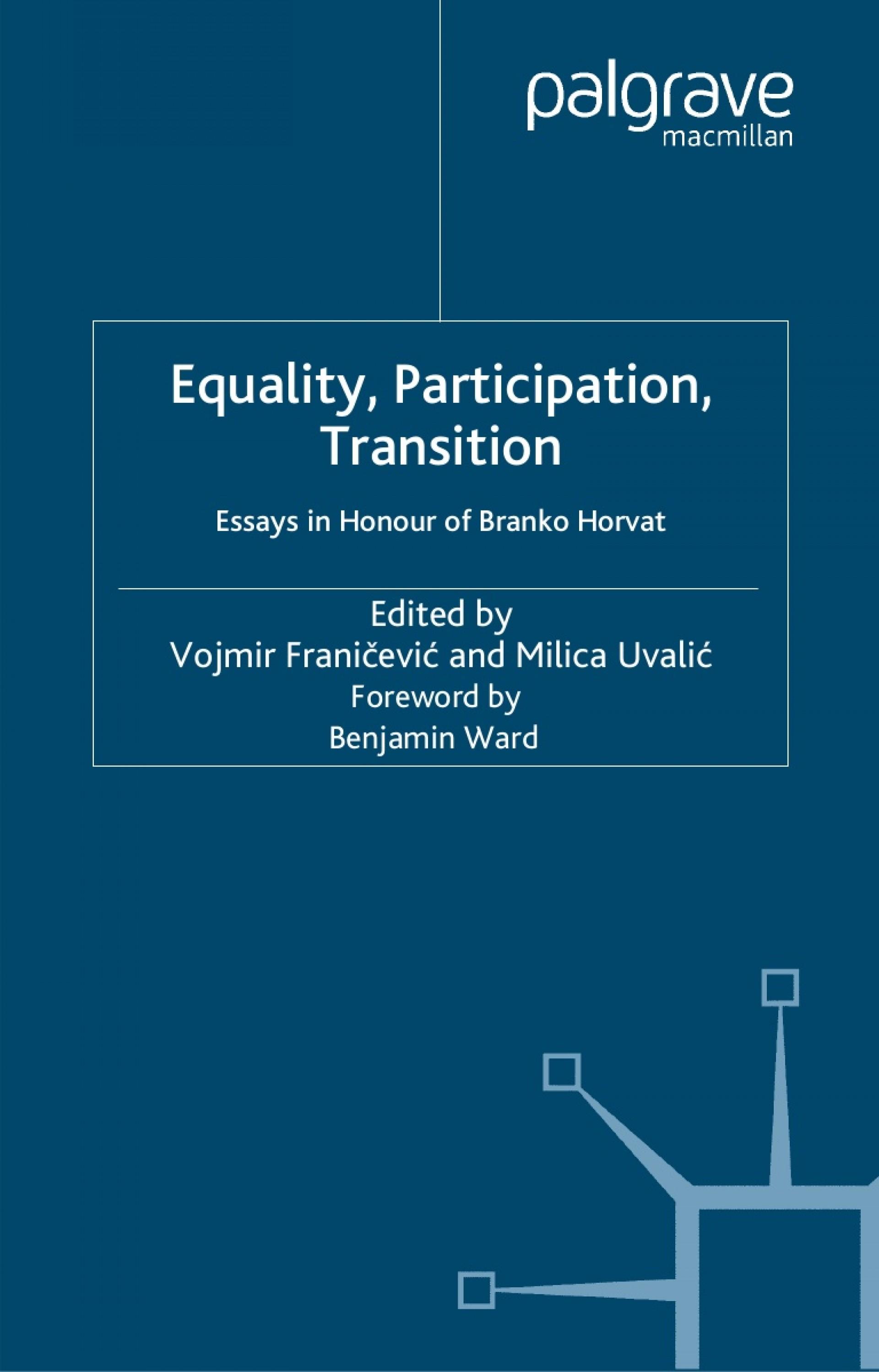 019 Equalityparticipationtransitionessaysinhonourofbrankohorvat Phpapp01 Thumbnail Virginia Tech Essays Essay Phenomenal Reddit Prompts 2018 Sat Requirements 1920