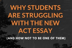 019 Essay Example Act Fearsome Topics Prompt New Time Limit 320