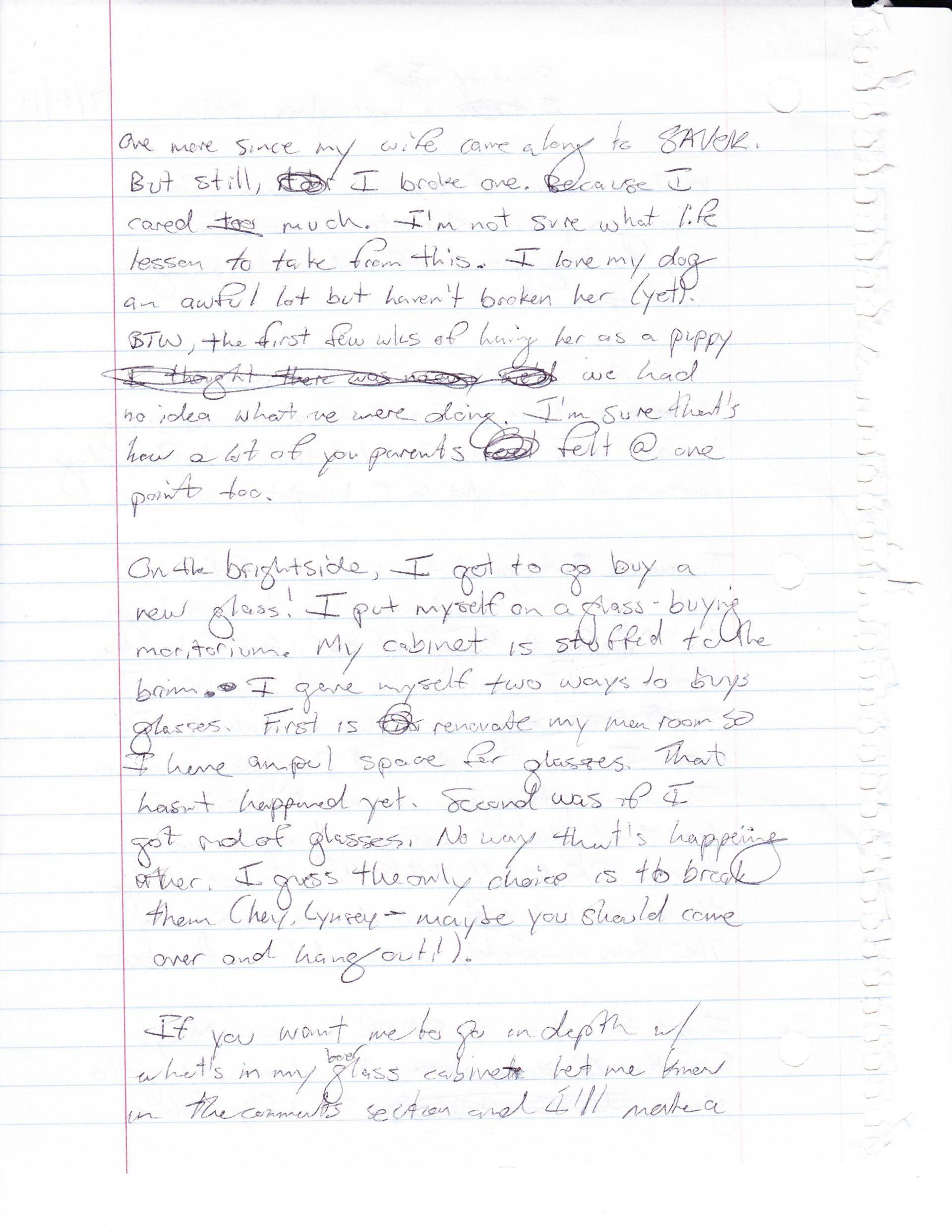 019 Essay Example Breakingabeerglass Handwritten2 Word Dreaded 1000 Pages 1920