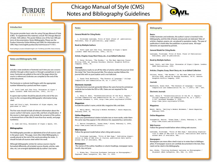 019 Essay Example Chicago Format Manual Of Style How To Write Shocking Footnotes Title Page Heading 728