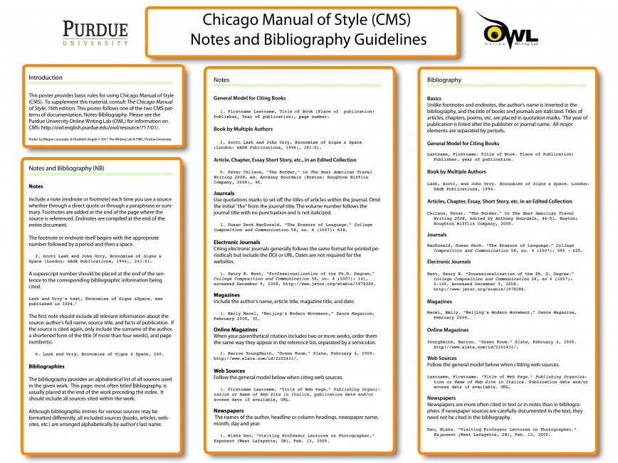 019 Essay Example Chicago Format Manual Of Style How To Write Shocking Footnotes Title Page Heading 868
