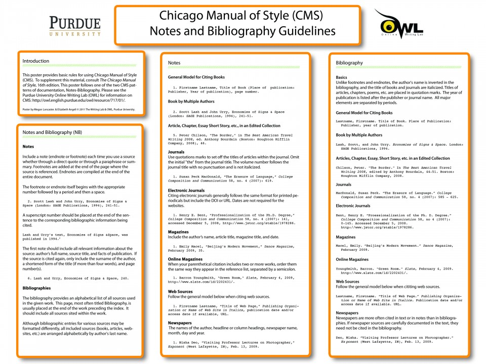 019 Essay Example Chicago Format Manual Of Style How To Write Shocking Footnotes Title Page Heading 960
