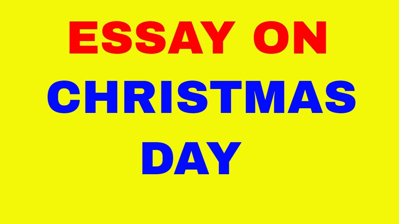 019 Essay Example Christmas Stupendous Vacation Introduction Titles