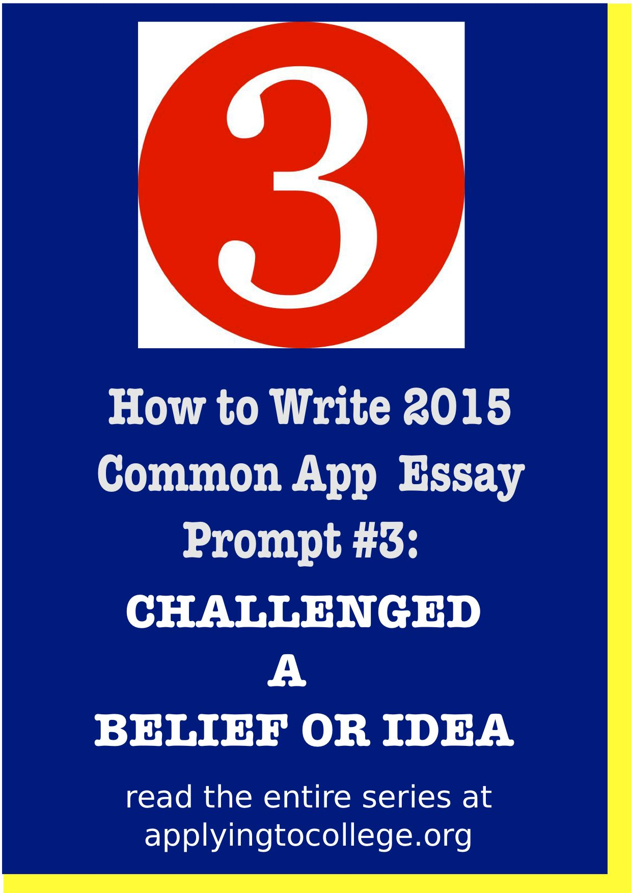 019 Essay Example College Shocking 2015 Prompts Admission Full