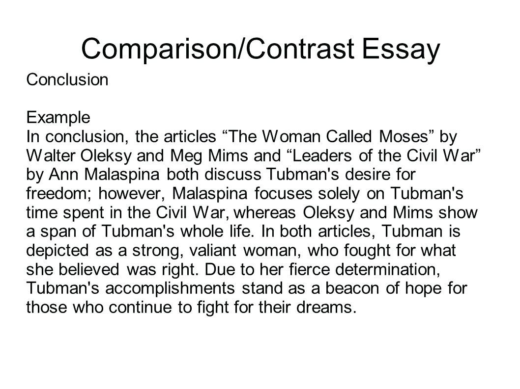 019 Essay Example Comparison Contrast Co Swritg Compare Rare And Block Method Sample High School Examples Middle Full