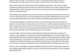 019 Essay Example Creative Page 1 Imposing English Examples Titles About Education Definition