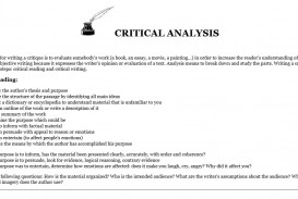 019 Essay Example Critical Analysis Definition Striking Literature Review Expository