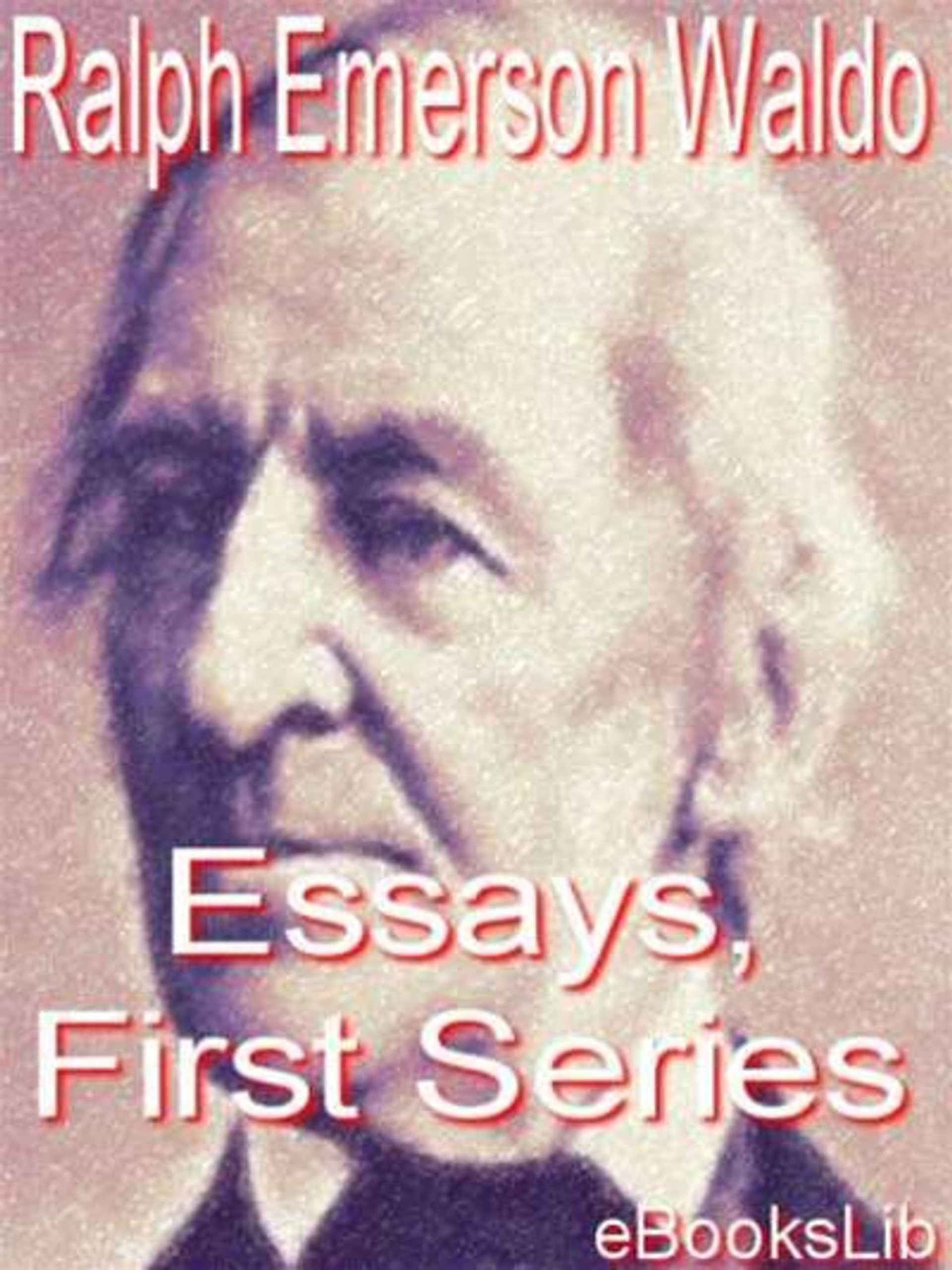 019 Essay Example Essays First Series Stunning Emerson Pdf Shelburne Publisher 1920