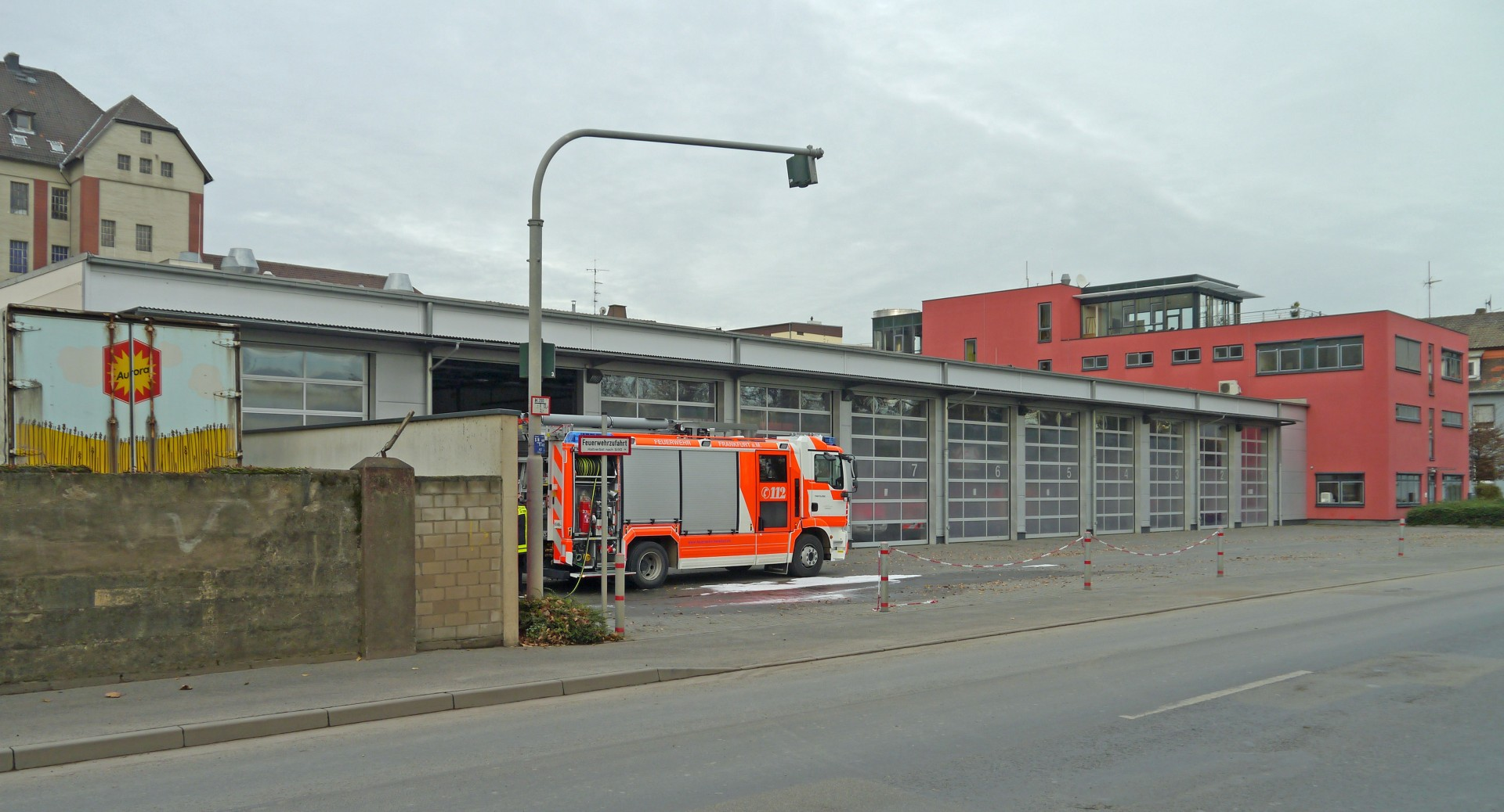 019 Essay Example Feuerwache Osthafen Ffm Visit To Fire Unusual Station 1920