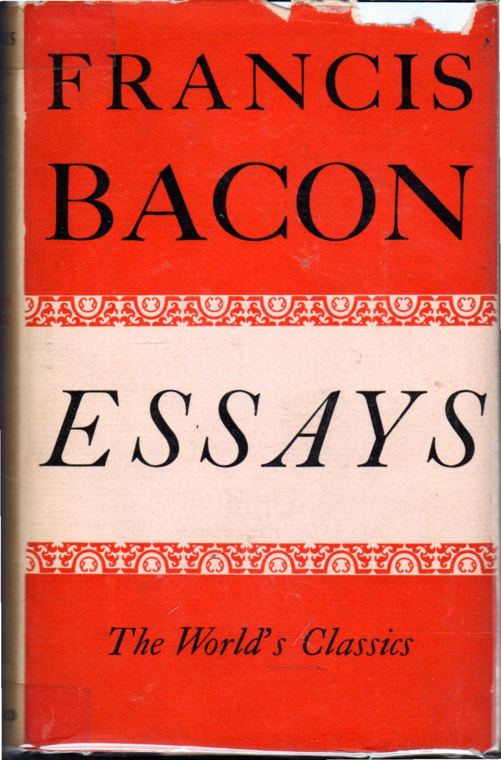 019 Essay Example Francis Bacon Essays Awesome Analysis Pdf Of Truth Download Critical Appreciation Bacon's Full