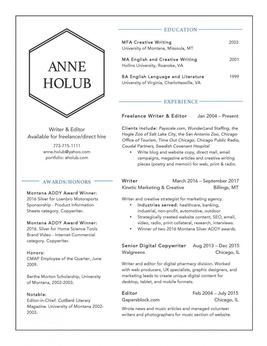 019 Essay Example Fsu Holub Resume 2017 Page 1 Surprising Topic Help