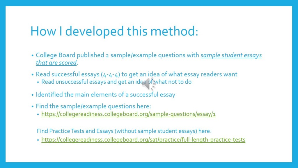 019 Essay Example How To Write Sat Stirring A Killer Pdf Conclusion Large