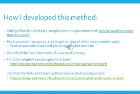 019 Essay Example How To Write Sat Stirring A Killer Pdf Conclusion