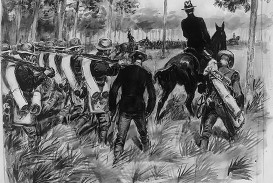 019 Essay Example Macarthur Spanish American War Troops On The March Contributor Glackens William J Loc 2000x1411 Q85 Crop Subsampling 2 Upscale Awful Causes And Effects Topics Questions