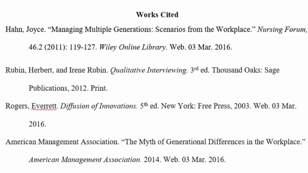 019 Essay Example Maxresdefault How To Cite Work In Stupendous An Nber Working Paper Mla A Web Source Large