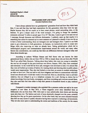 019 Essay Example Newdoc2 1 Cause And Dreaded Effect Thesis Statement For On Bullying Examples 6th Grade Pollution 360