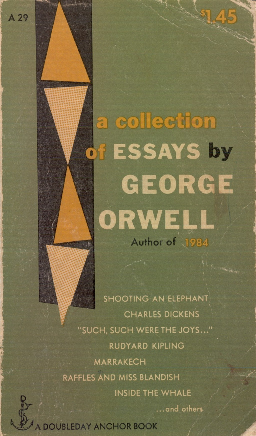 019 Essay Example Orwell George Frightening Essays Everyman's Library Summary Bookshop Memories Large