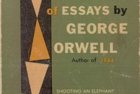 019 Essay Example Orwell George Frightening Essays Everyman's Library Summary Bookshop Memories