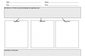 019 Essay Example Persuasive Writing Graphic Organizer Argumentative Impressive Pdf Middle School