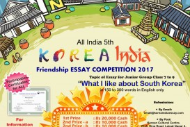 019 Essay Example Poster Junior Staggering Contest 2017 Online Competition India Writing High School Optimist International