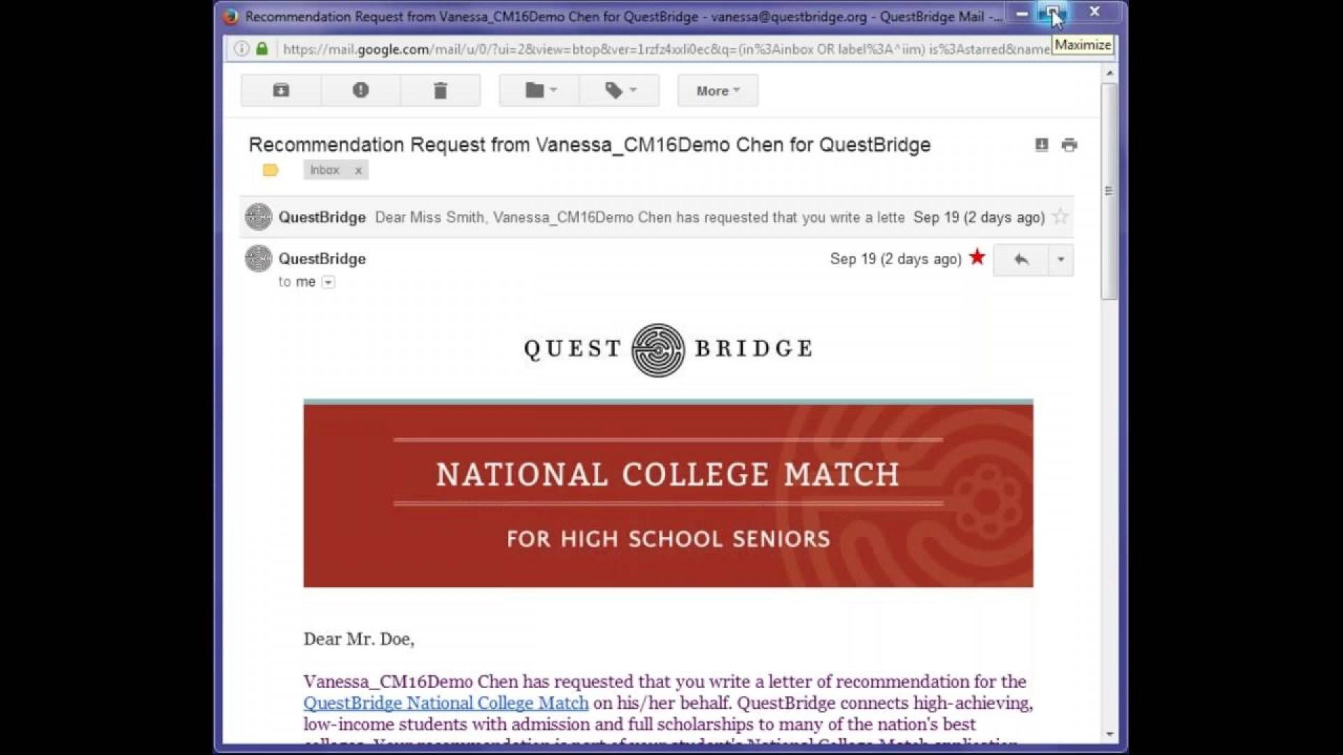 019 Essay Example Questbridge Stirring Essays Examples Finalist National College Match Prompts 1920