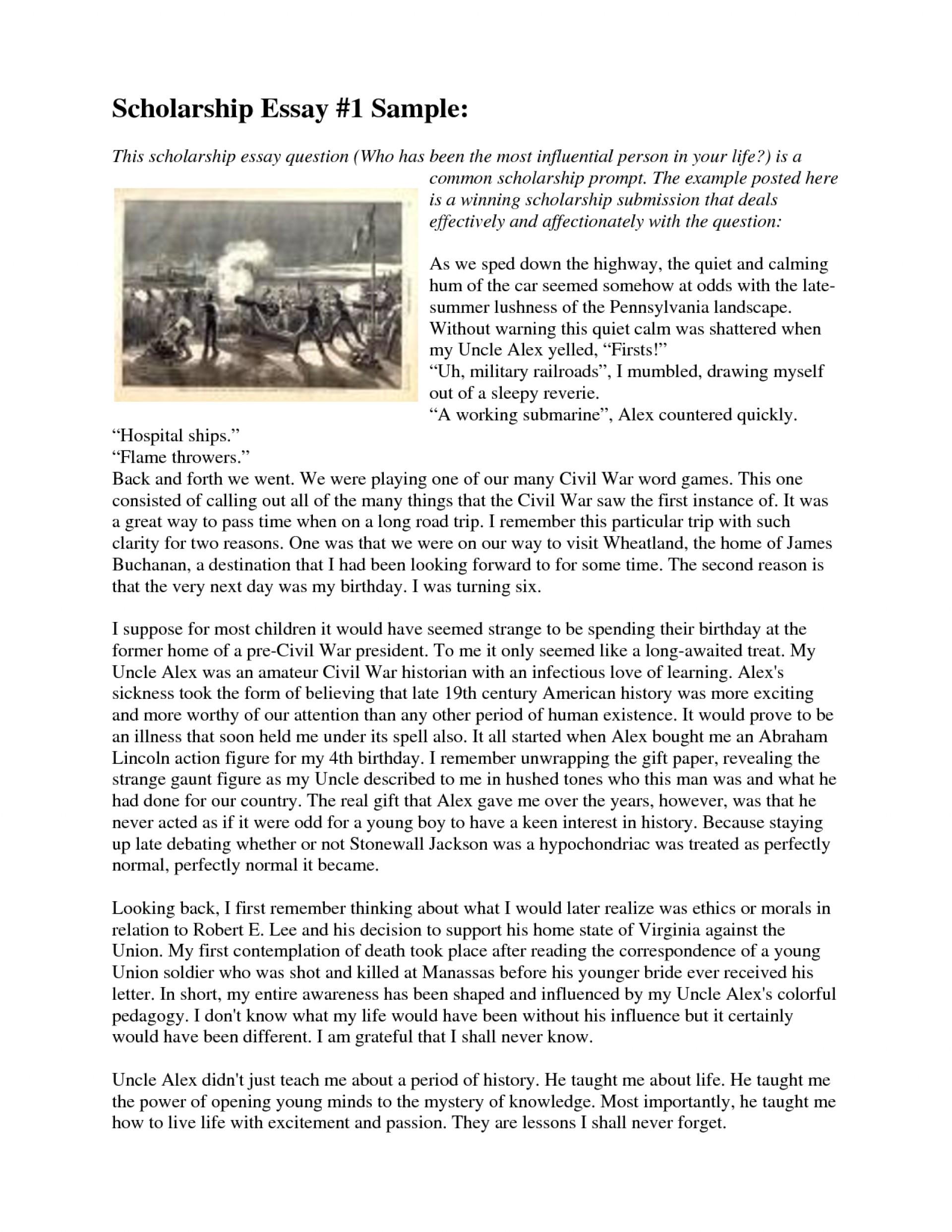 019 Essay Example Scholarship Writing Help Professional Service 3aoaa Sample Winning Sensational Essays 1920